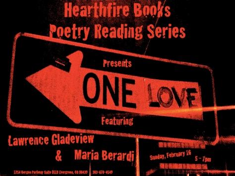 Hearthfire Books Poetry Reading Series